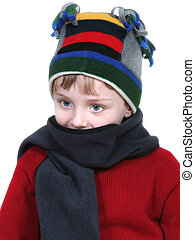 Boy In Winter Attire