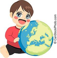 Boy Love Earth
