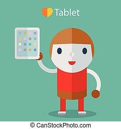 Boy Love tablet