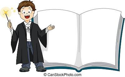 Boy Magic Book