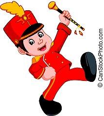 boy marching band