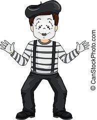 Boy Mime