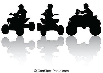 Boy on the quadbike