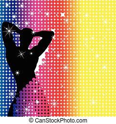 Boy Party Rainbow Dots