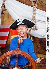 Boy pirate