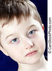 Boy - Portrait of a happy child