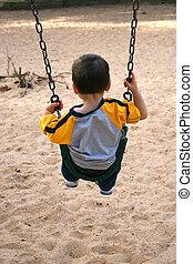 Boy Swing Park