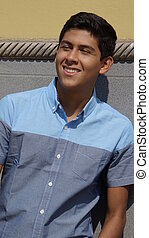 Boy Teen Smiling