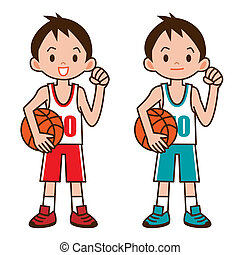 Boy to play basketball