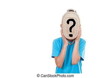boy with a basket
