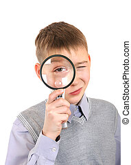 Boy with a Loupe
