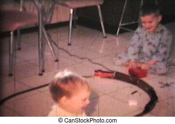 Boy With New Train Set (1968)