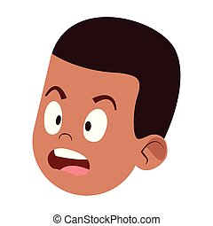 boy with surprised face avatar