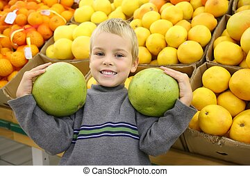 boy with the citruses