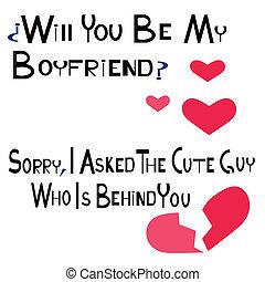 boyfriend - is an illustration in eps file
