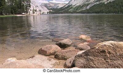 Boys in a Mountain Lake