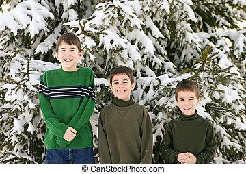 Boys in the Winter