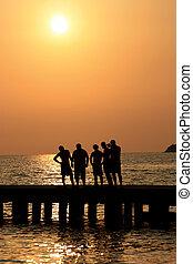 boys on the boardwalk