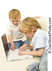 Boys On The Computer
