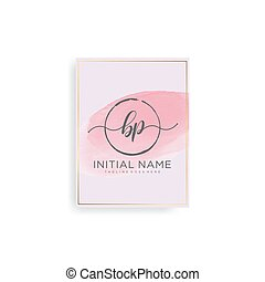Letter Initial with Royal Template.elegant with crown logo vector, Creative Lettering Logo Vector Illustration.