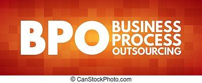 bpo, proces, outsourcing, akronim, handlowy, -