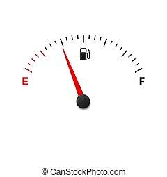bränslemätare, meter
