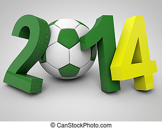 brésil, 2014, football, championnat