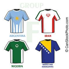 brésil, 2014, groupe, f