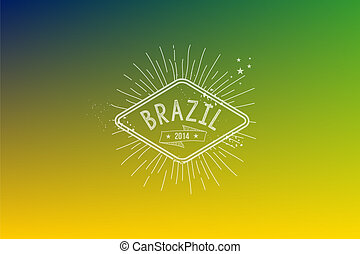 brésil, 2014, vendange, étiquette