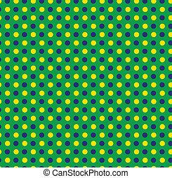 brésil, bleu, seamless, vert jaune, fond, 2014