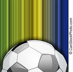 brésil, championnat, football, fond, 2014, boule football
