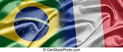 brésil, et, france