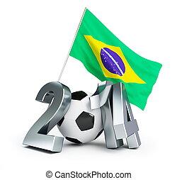brésil, football