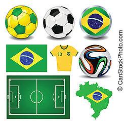 brésil, football, championnat