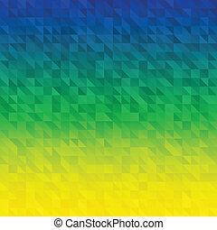 brésil, résumé, drapeau, couleurs, fond, utilisation