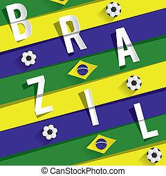 brésilien, équipe foot
