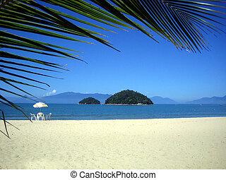 brésilien, plage