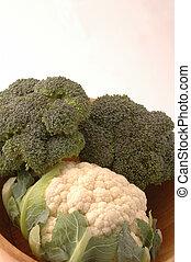 bróculi, coliflor, 262