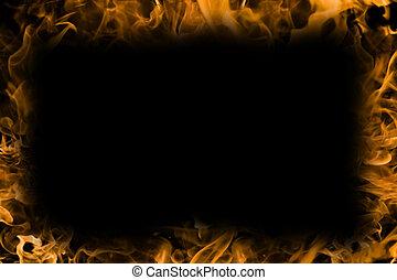 brûlé, fond