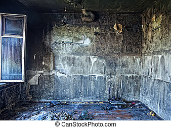 brûlé, intérieur