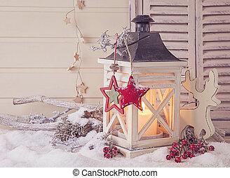 brûlé, lanterne