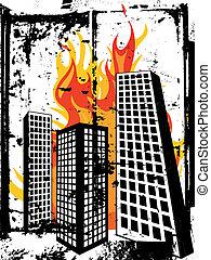 brûlé, ville