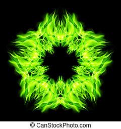 brûler, étoile