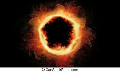 brûler, anneau