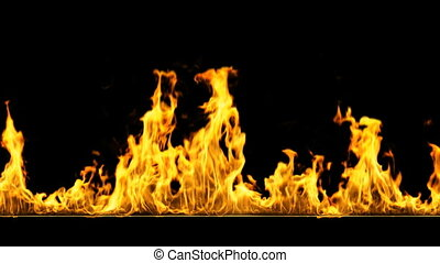 brûler, boucle, hd
