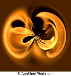 brûler, cercle