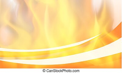 brûler, chaud, fond, gabarit