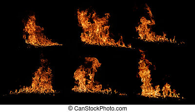 brûler, collection