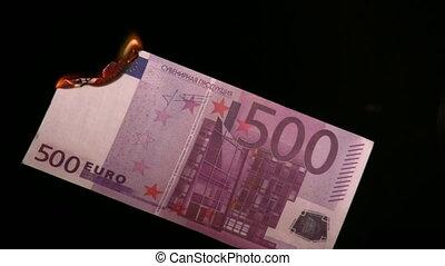 brûler, euro