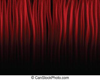 brûler, flames., editable., formes, couleur, rouges
